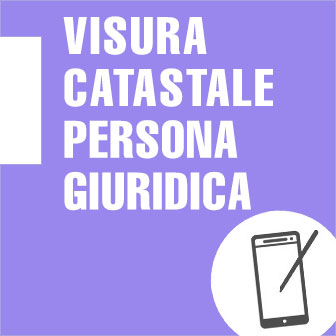 Visura catastale persona giuridica for Visura catastale